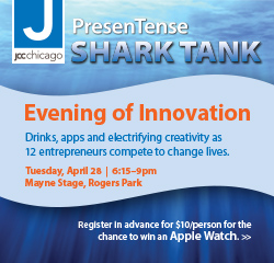 JCC Shark Tank box ad
